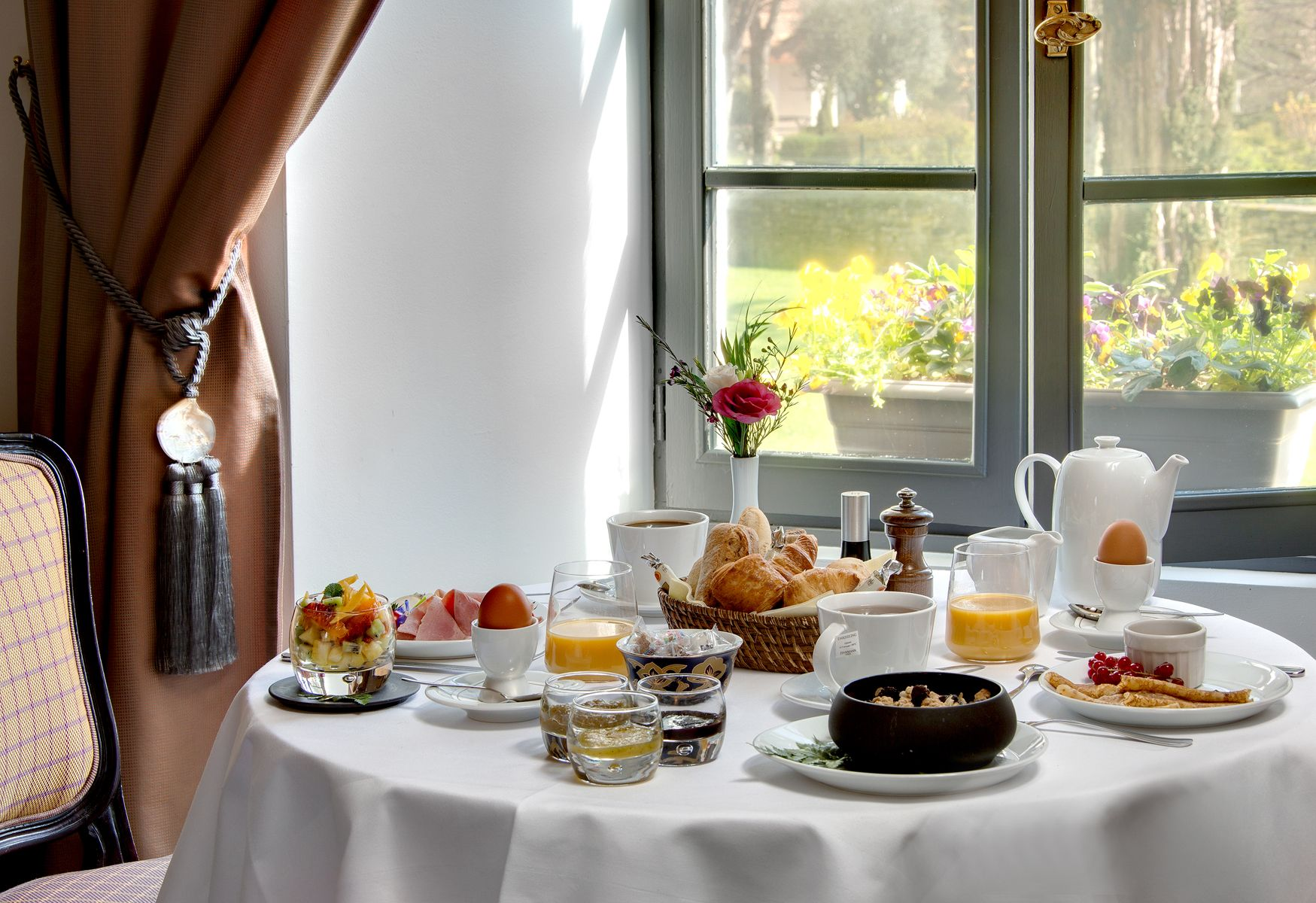Hôtel Saint Martin **** | luxury hotel france | Breakfast